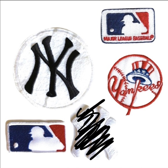 0ba109e36d7a8 New York Yankees Patch Iron On Patches Baseball 4 Boutique
